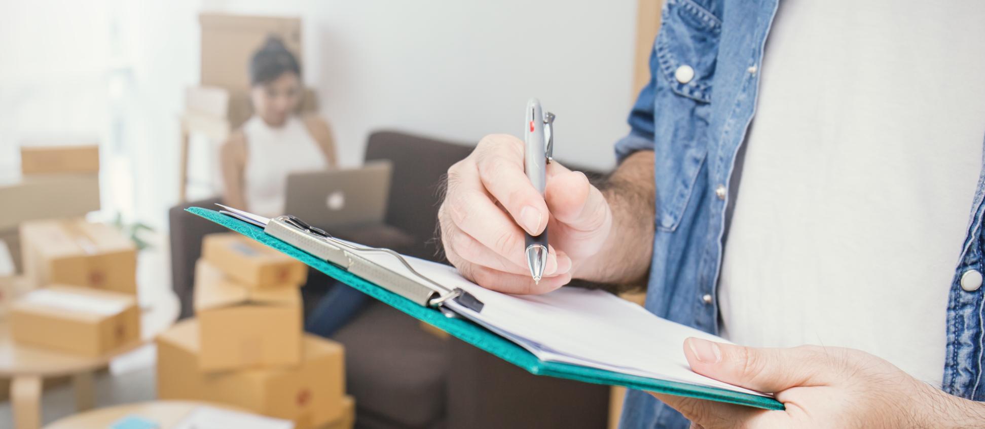 Writing on clipboard